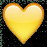 yellow-heart-emoji-2-Free-PNG-Images-Transparent